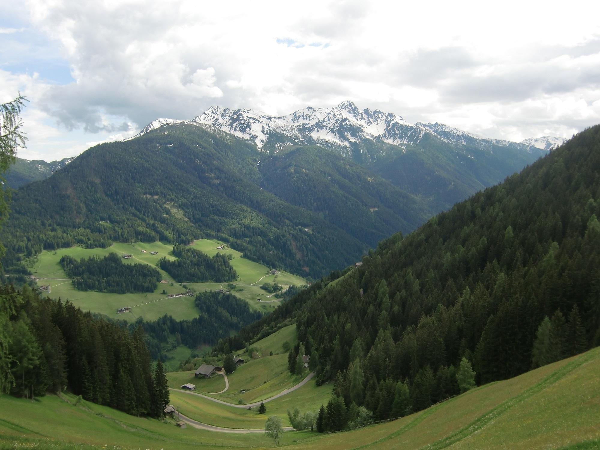 Blick vom Berg runter